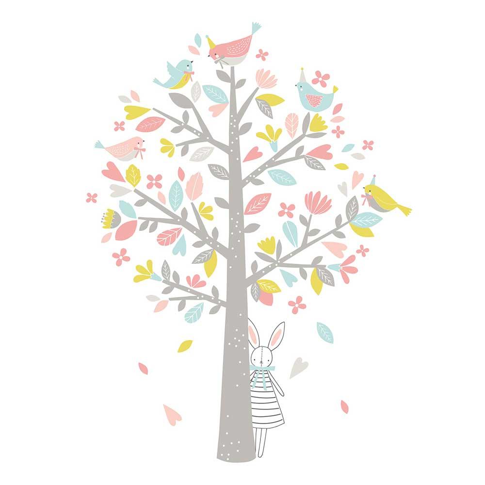 Beeindruckend Wandsticker Baum Dekoration Von