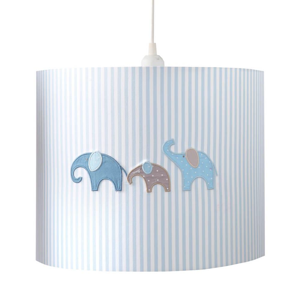 Annette Frank Hängelampe Elefanten blau bei kinder räume