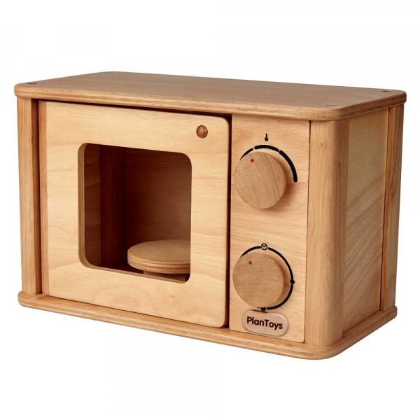 Plan Toys Kinder Mikrowelle Holz