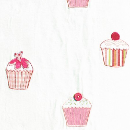 Harlequin Stoff Muffins rosa