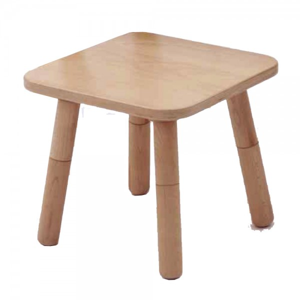 Pure Position Growing Table Hocker Buche