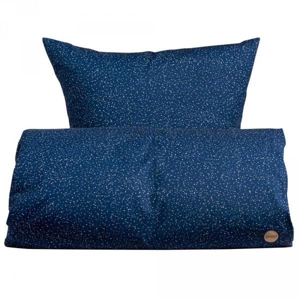 OYOY Kinderbettwäsche Sternenhimmel blau 100 x 140