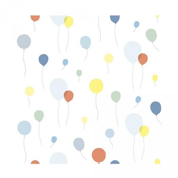 Lilipinso Vlies Tapete Luftballons mehrfarbig