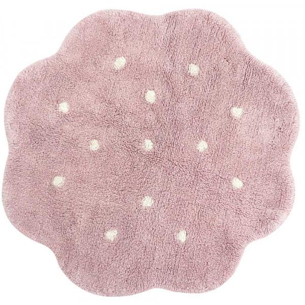 Lorena Canals waschbarer Teppich Keks Mini rund