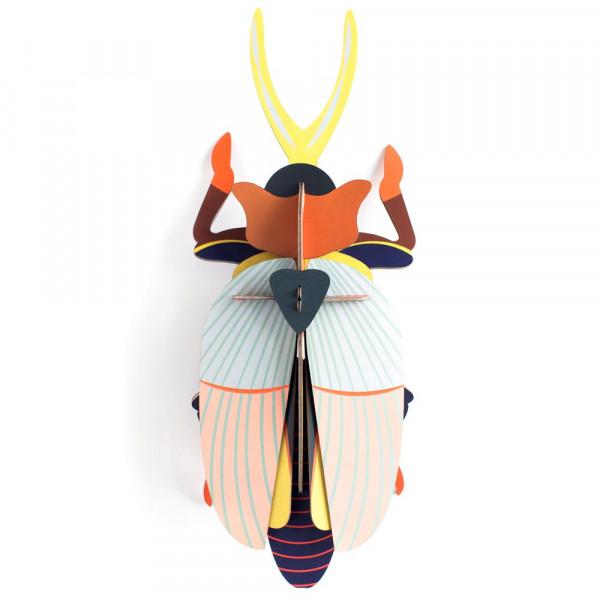 studio ROOF 3D Nashorn Käfer Pappe