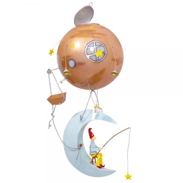 L' Oiseau Bateau Mobile Heissluftballon Mondmann