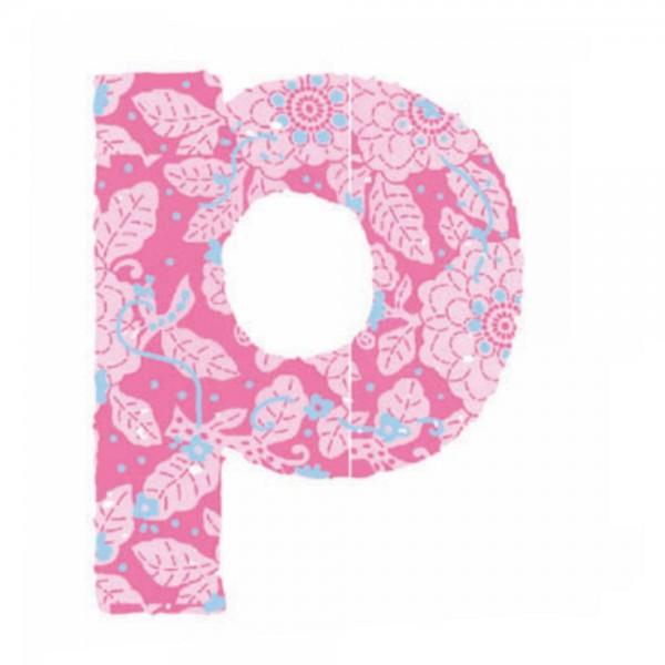 Lilipinso Sticker rosa Buchstabe p
