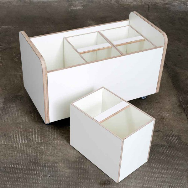 Pure Position Growing Table Box für Rollcontainer rolling box