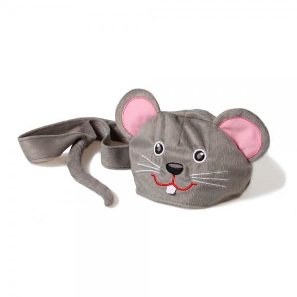 Oskar & Ellen Tier Spielmütze Maus