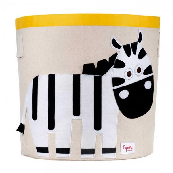 3 Sprouts Aufbewahrungskorb Zebra
