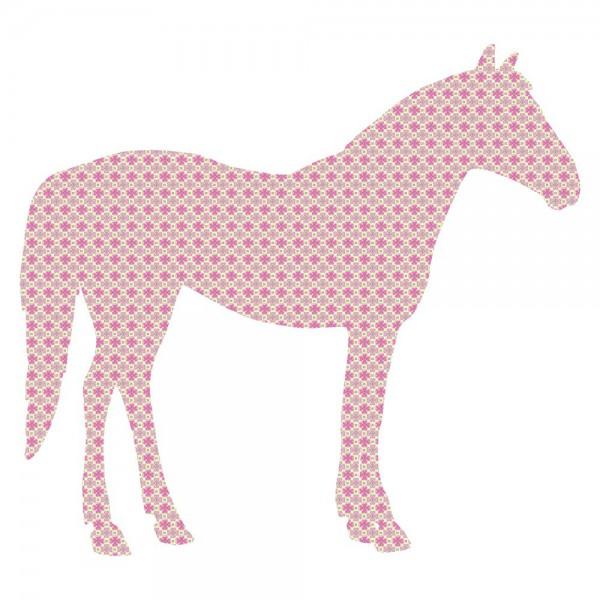 Inke Tapetentier Pferd rot 71