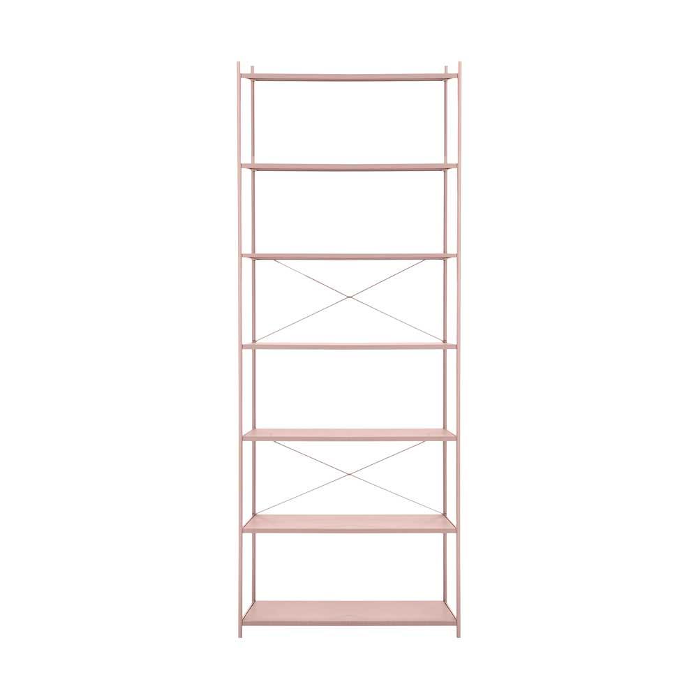 ferm living kinder regal punctual 1x7 rosa bei kinder r ume. Black Bedroom Furniture Sets. Home Design Ideas