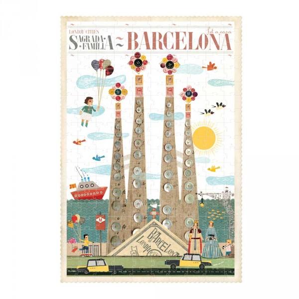 Londji Kinder Puzzle Barcelona