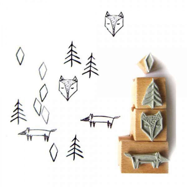 Nuukk Kinderstempel Fuchs & Wald