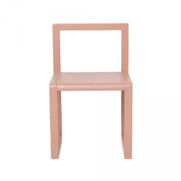 Ferm Living Kinderstuhl Little Architect rosa