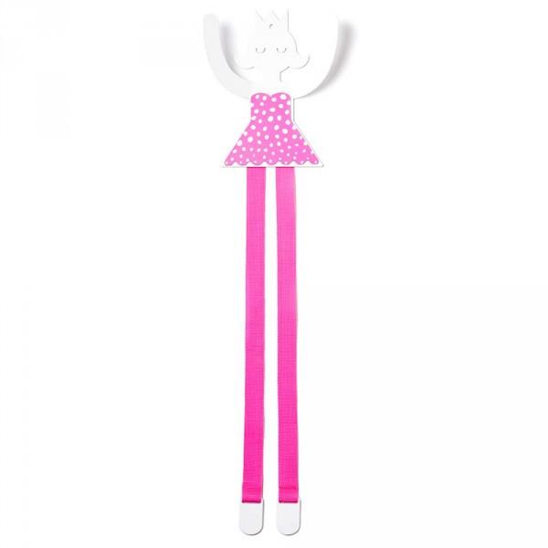 tresxics Wandhaken & Haarspangenhalter Prinzessin pink