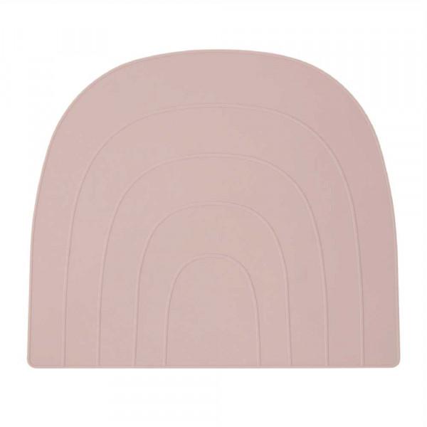 Oyoy Kinder Tischset / Platzset Regenbogen uni rosa