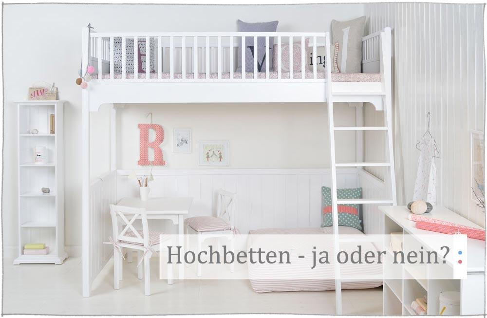 Entzuckend Sind Hochbetten Im Kinderzimmer Eine Gute Idee?