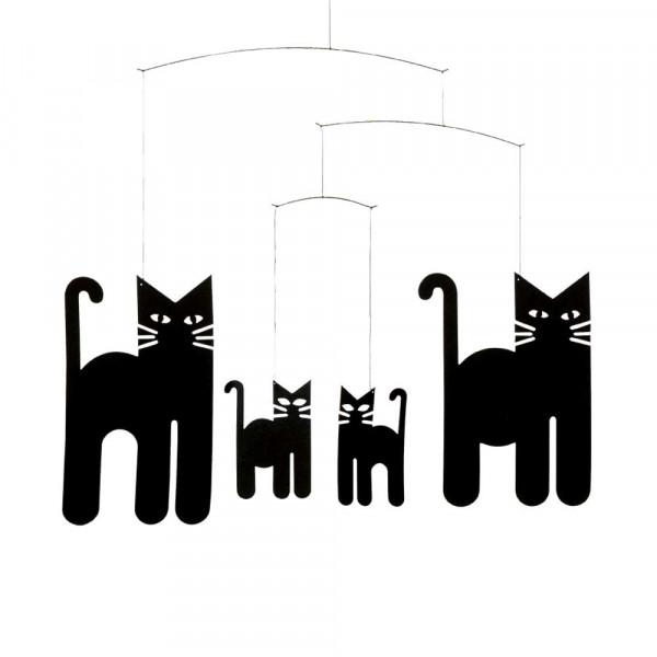 Flensted Mobile Katzenfamilie