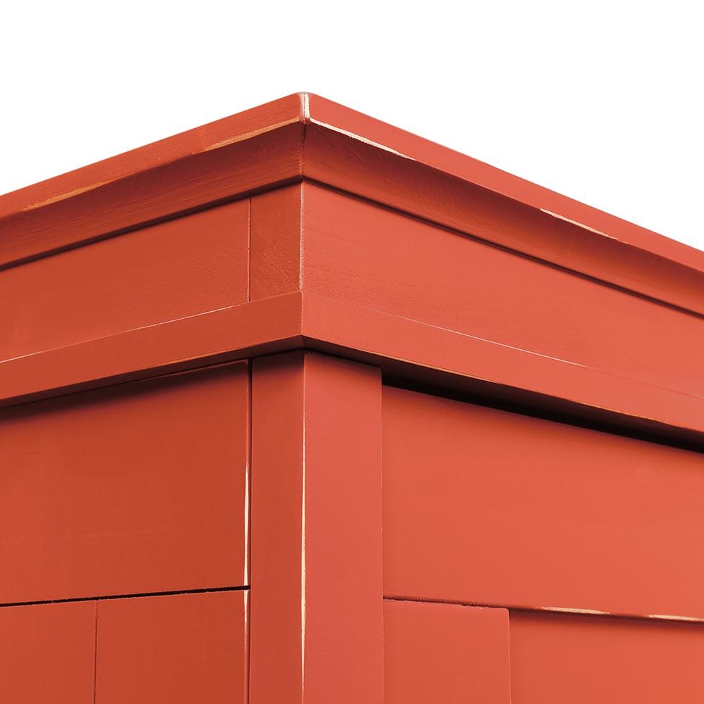 Bopita Country 2 Turiger Kleiderschrank Rot