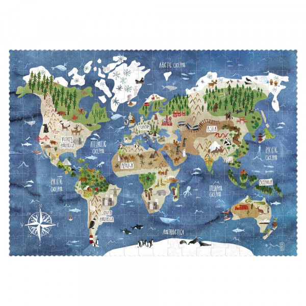 Londji Kinder Puzzle Suchspiel Discover the World