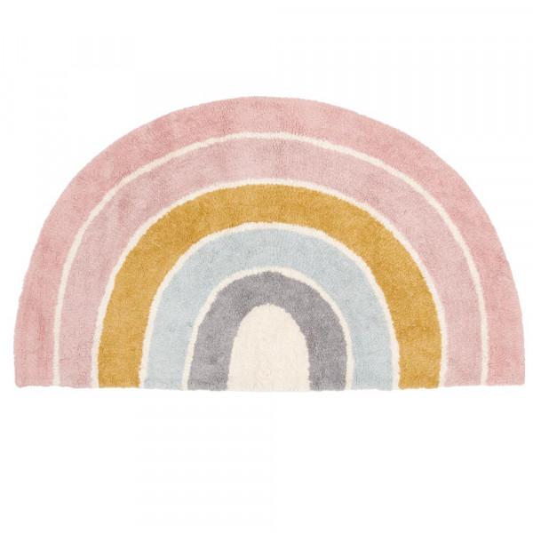 Little Dutch Teppich Regenbogen rosa 80 x 130