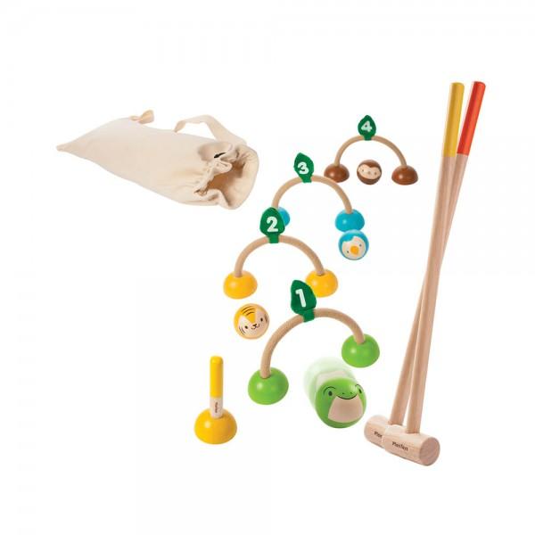 Plan Toys Kricket-Spiel Holz