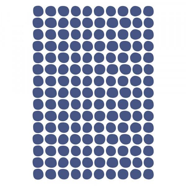 Lilipinso Wandsticker A3 Tupfen blau