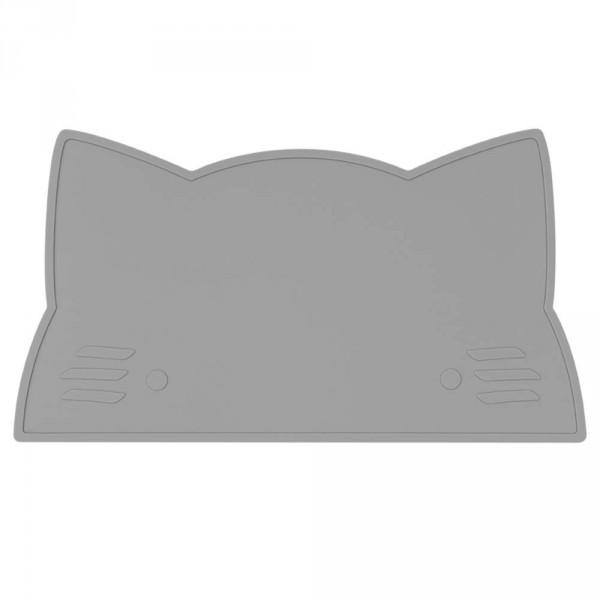 We Might Be Tiny Kinder Tischset Silikon Katze grau