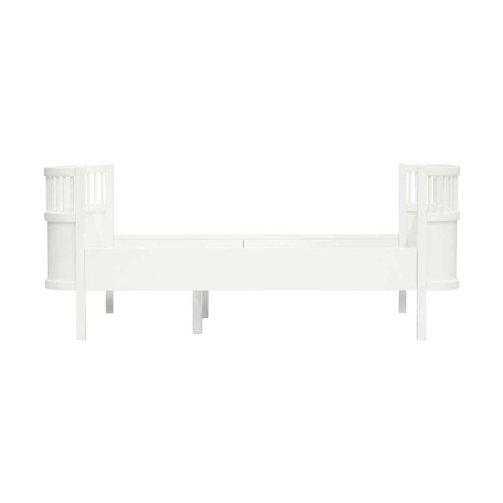 sebra kinderbett junior grow holz weiss bei kinder r ume. Black Bedroom Furniture Sets. Home Design Ideas