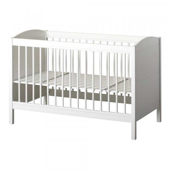 Oliver Furniture Seaside Lille+ Babybett umbaubar zum Juniorbett weiss