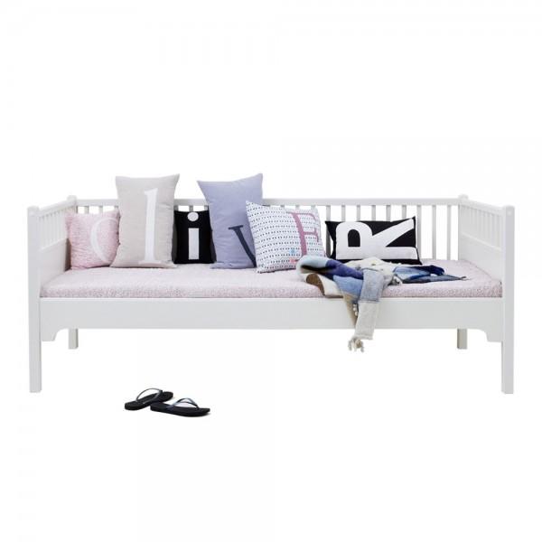 Oliver Furniture Bettsofa Tagesbett 90 x 200 weiß