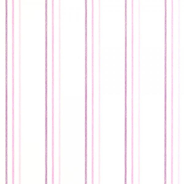 Casadeco Arc En Ciel Streifentapete Aquarell rosa pink lila