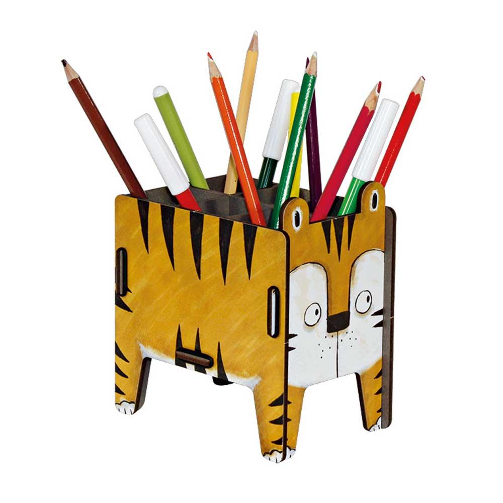 werkhaus stiftebox vierbeiner tiger bei kinder r ume. Black Bedroom Furniture Sets. Home Design Ideas