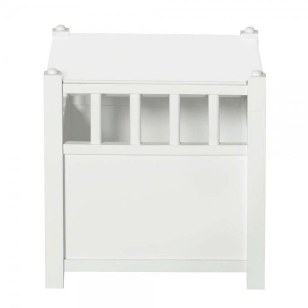 Oliver Furniture Seaside Spielzeugtruhe cube weiß