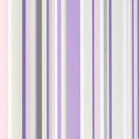 Harlequin Tapete Streifen lila
