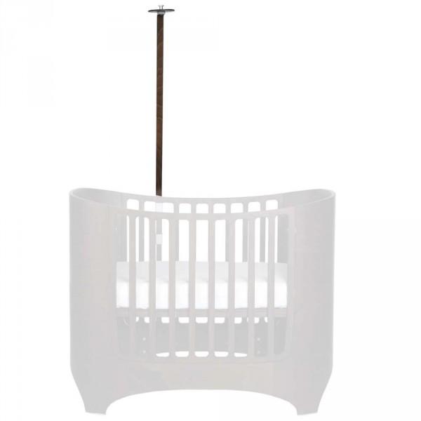 Leander Himmelgestell für Babybett walnuss