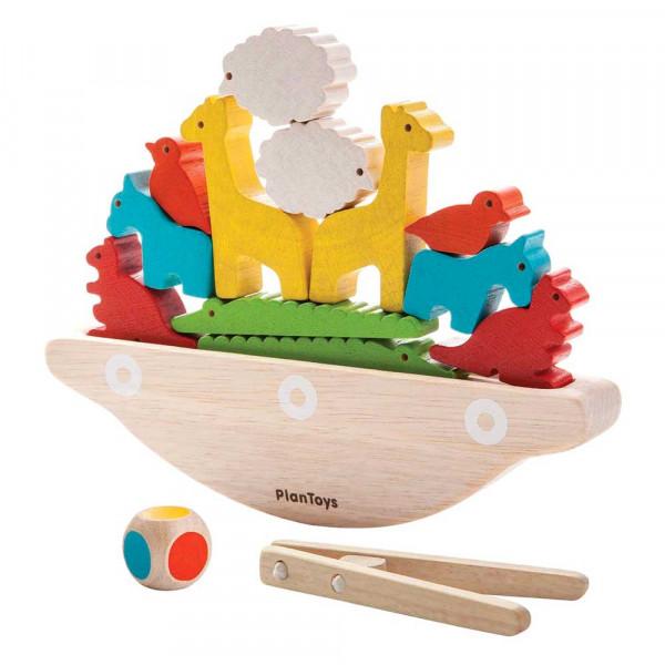 Plan Toys Kinder Balancier Spiel Boot