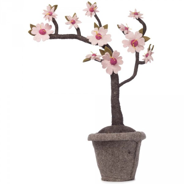 Kidsdepot Deko Pflanze Filz Blossom
