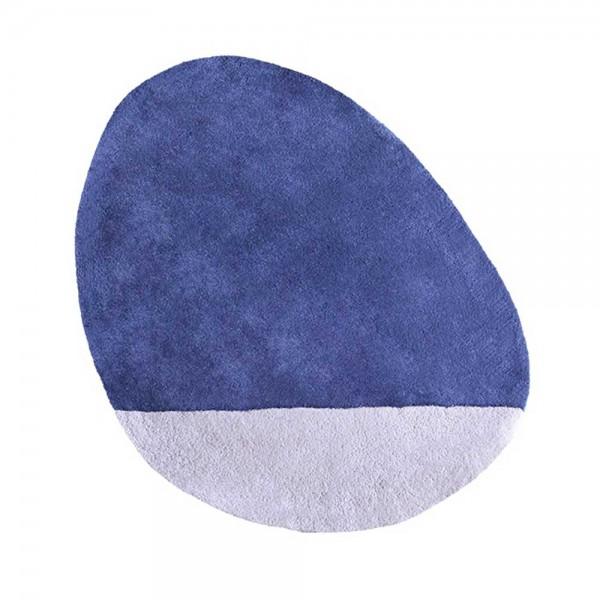 Lilipinso Teppich Stein dunkelblau