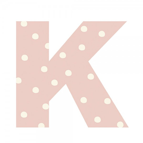 Lilipinso Sticker Buchstabe gepunktet K
