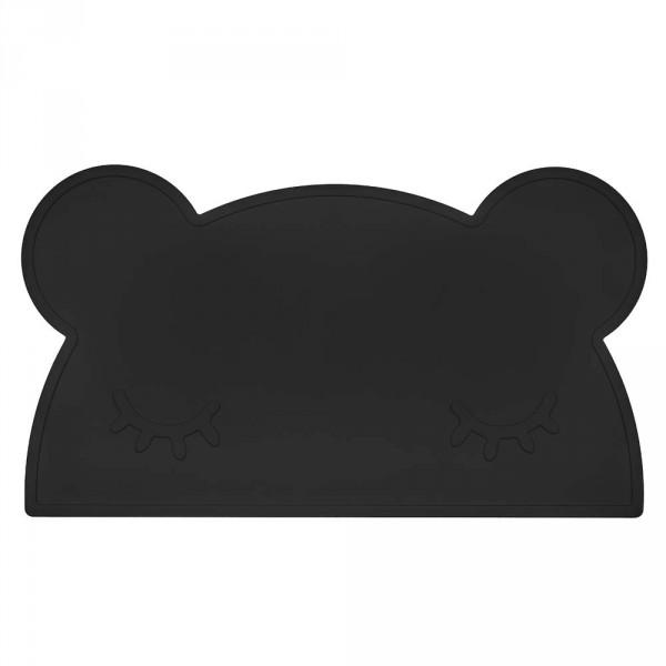 We Might Be Tiny Kinder Tischset Silikon Bär schwarz