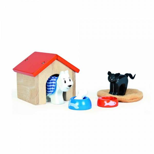 Le Toy Van Puppenhaus Zubehör Haustier Set