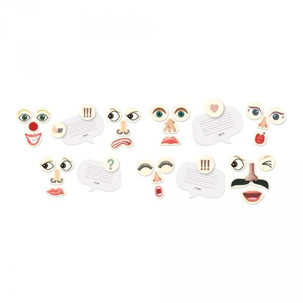 Londji Kinder Magneten Kühlschrank Gesichter
