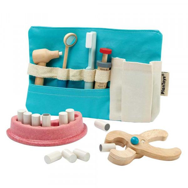 Plan Toys Spielzeug Zahnarzt-Set Holz