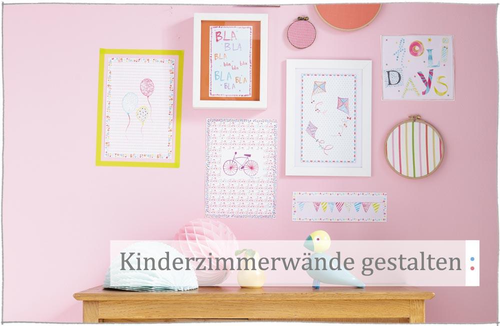 Wände Im Kinderzimmer Gestalten