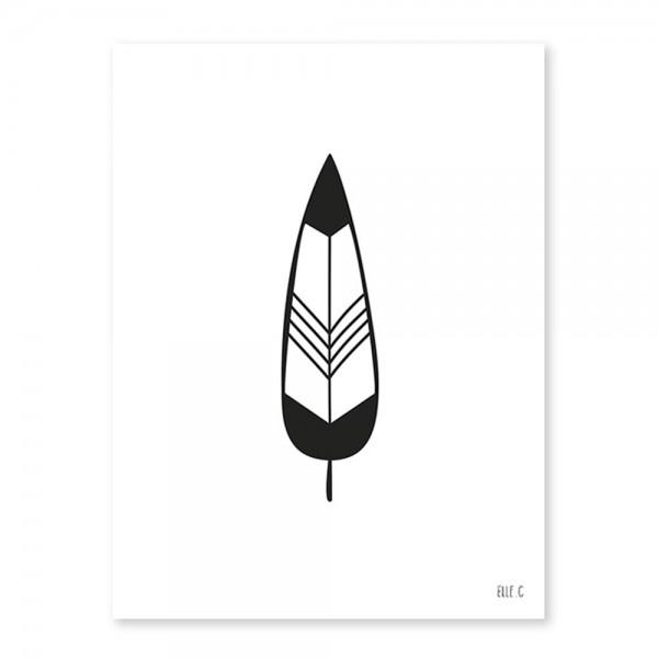 Lilipinso Poster Indianer Feder