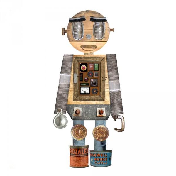 tresxics Wandsticker Robotor Junge Guim