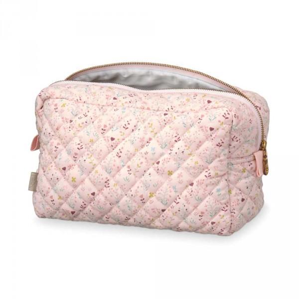 Cam Cam Kulturtasche Blüten rosa