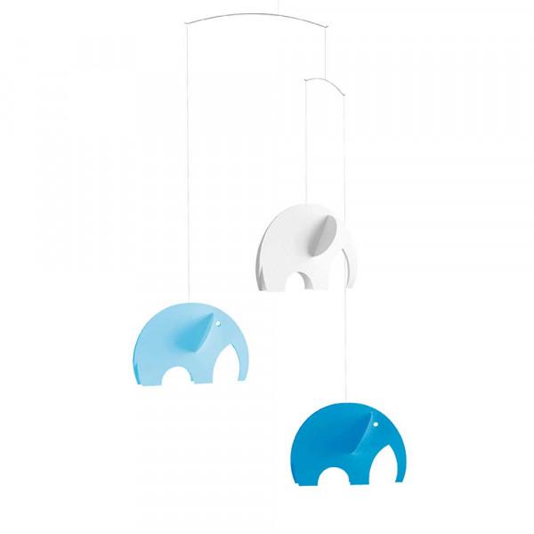 Flensted Mobile Olefanten hellblau